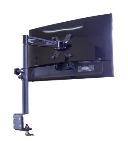 Mount It 2 Way Adjustable Tilting Desk Mount Bracket For