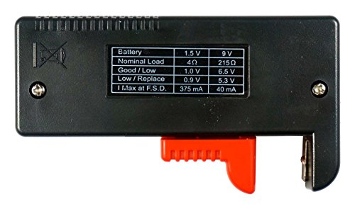 9 Volt Battery Tester : Se bt volt battery tester