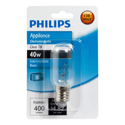 Philips 416255 Appliance 40-Watt T8 Intermediate Base