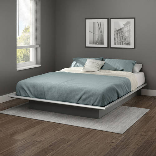 queen step king one pure south black headboards size platform in beds shore bed p