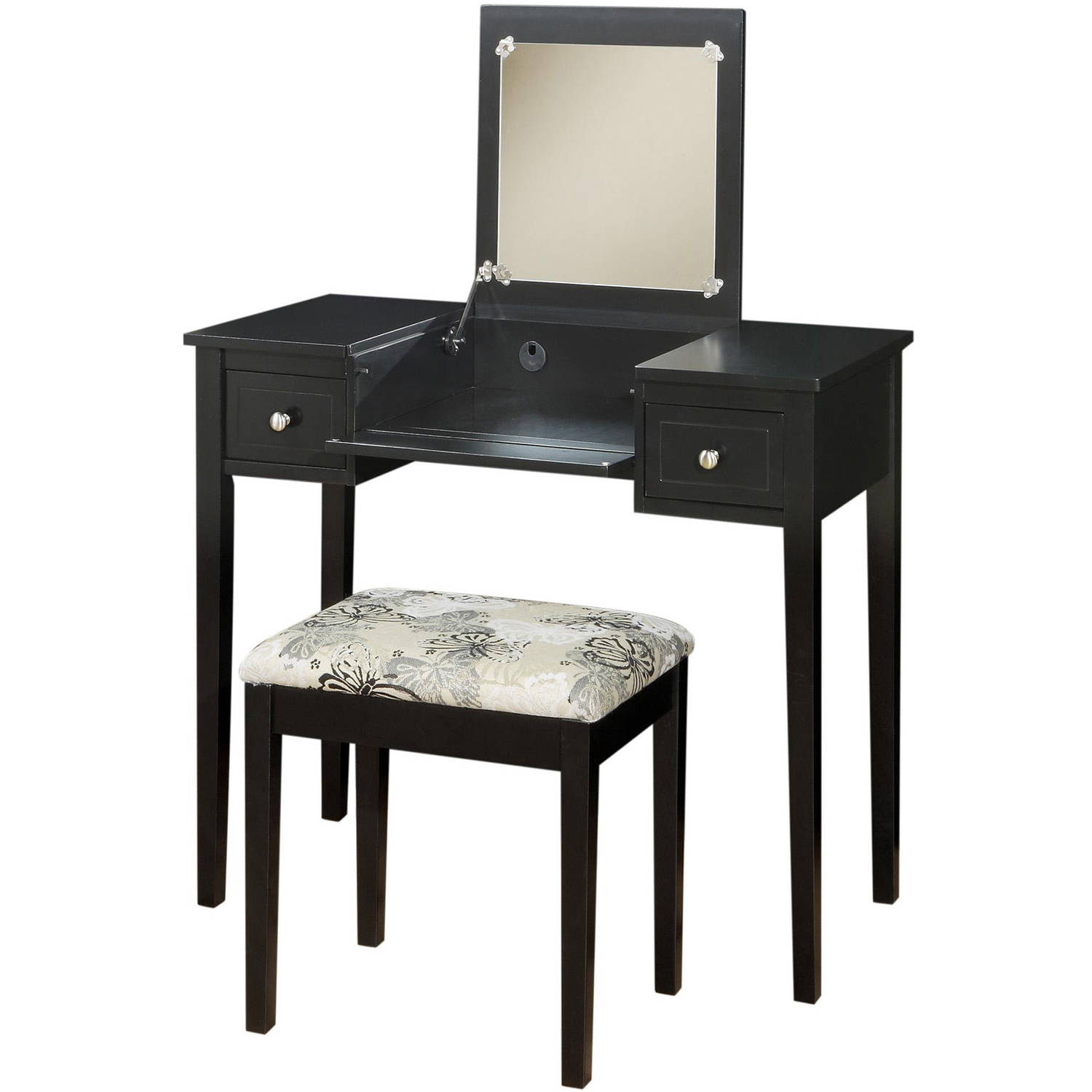 Exceptional Image Is Loading Linon Home Decor Vanity Set With Butterfly Bench