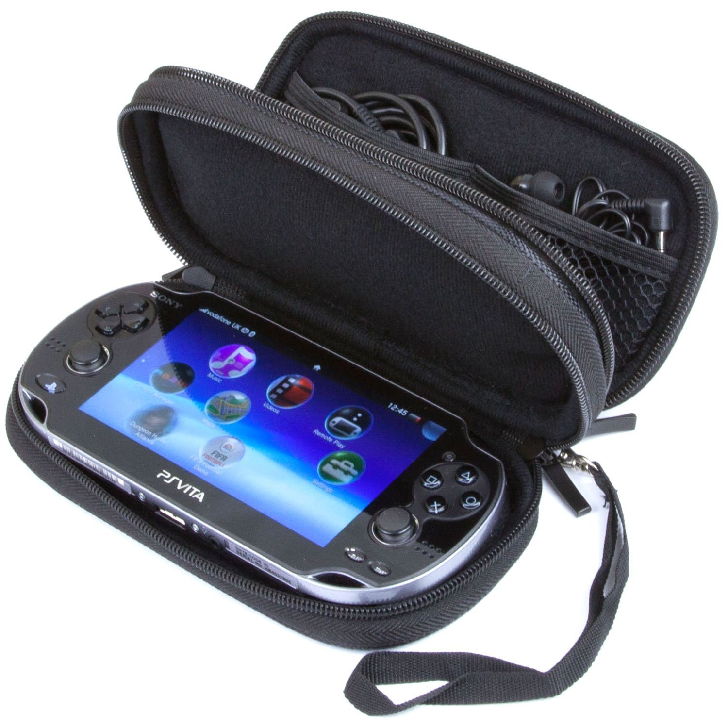Sony Ps Vita Game Cartridge : Butterfox double compartment carry case for ps vita and