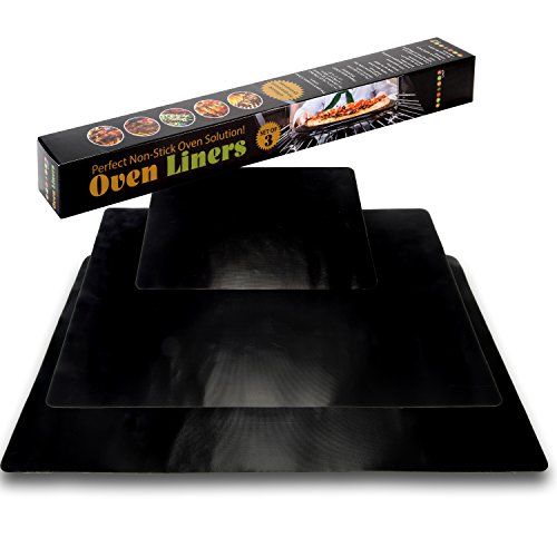 Oven Liners For Electric Ovens ~ Oven liner mat by twisted chef set of mats liners for