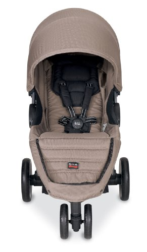 britax 2013 b agile stroller sandstone. Black Bedroom Furniture Sets. Home Design Ideas