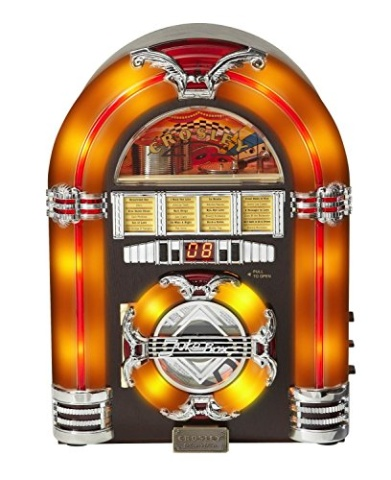 Crosley CR11CD Jukebox CD Player with Authentic Neon Lighting #1: 0d6bc1829e636cd7a18c83c4cb8a105d medium