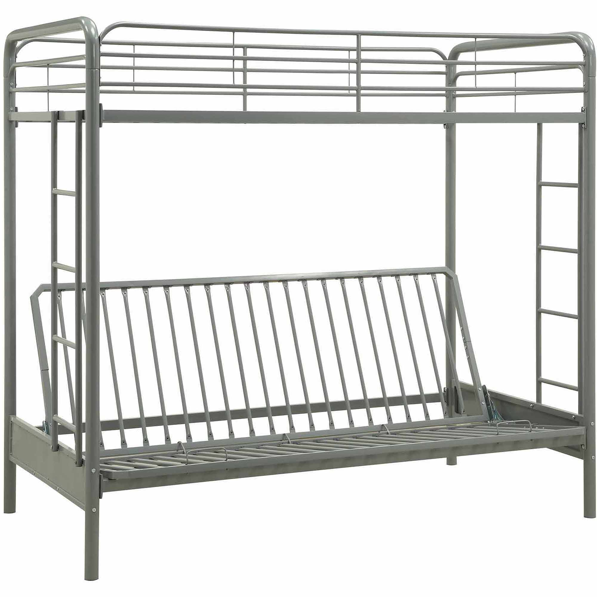 dhp twin over futon metal bunk bed multiple  dhp twin over futon metal bunk bed multiple colors   ebay  rh   ebay