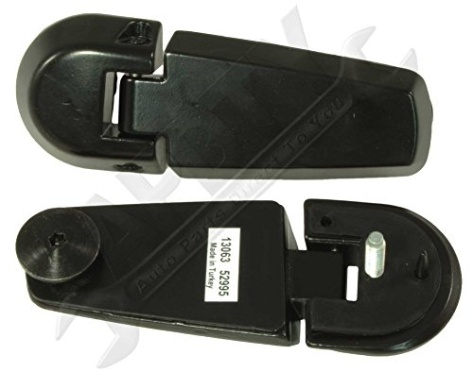 Apdty 035271 rear window glass hatch hinge set pair for for 2002 ford escape rear window hinge