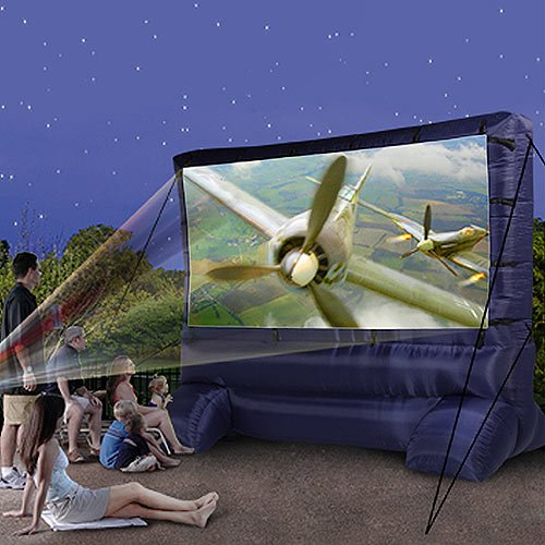 Gemmy 39127 32 Deluxe Outdoor Inflatable Movie Screen 12
