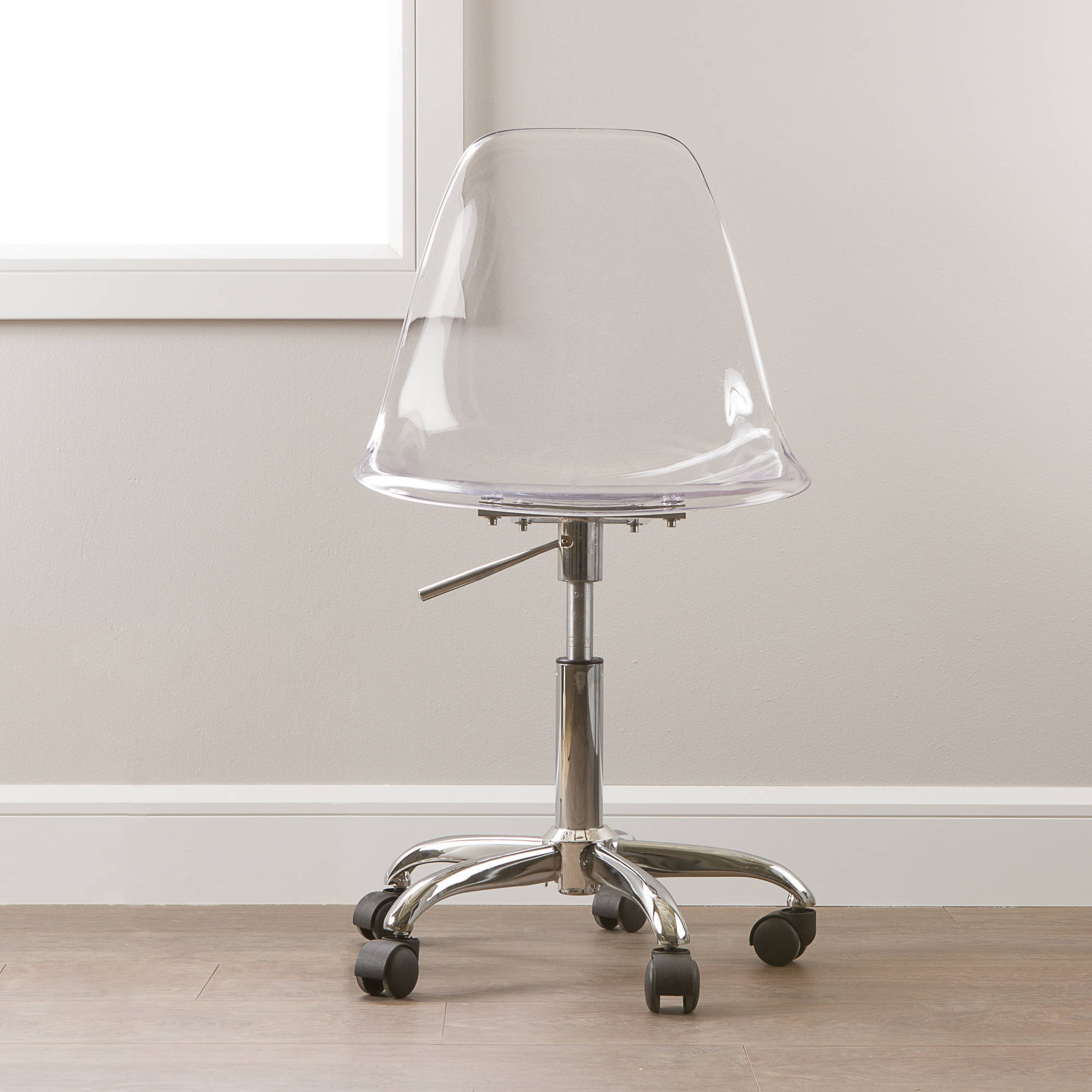 clear office chairs. simple chairs image is loading southshoreannexeclearofficechairwithwheels on clear office chairs o
