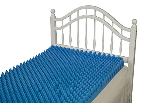Duro Med Convoluted Bed Pad Hospital Size Bed Pad Blue