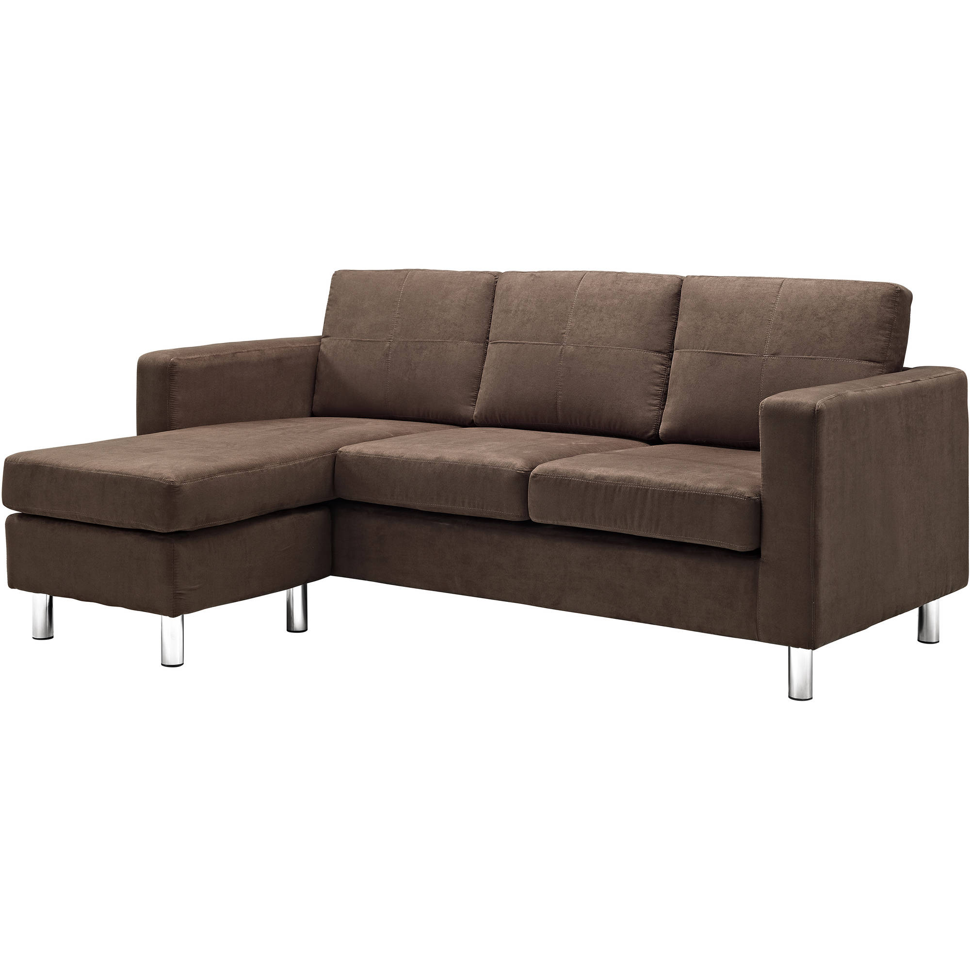 Dorel Living Small Es Configurable Sectional Sofa