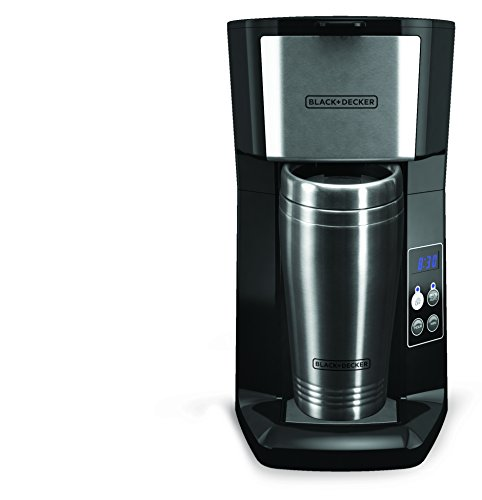 Ge Coffee Maker Filter : Black & Decker CM625B Programmable Single Serve Coffee Maker with