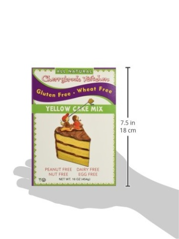 cherrybrook kitchen gluten free dreams yellow cake mix 16 4 oz