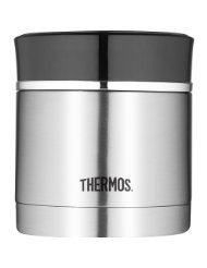 Thermos Food Jar With Microwavable Container 12 Ounce