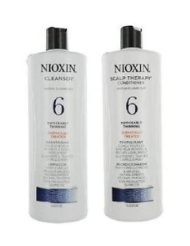 Nioxin Cleanser System 6 Medium To Coarse Noticeably