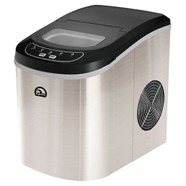 Igloo Compact Ice Maker Capable of Producing 26 Lbs. Of Ice Per D