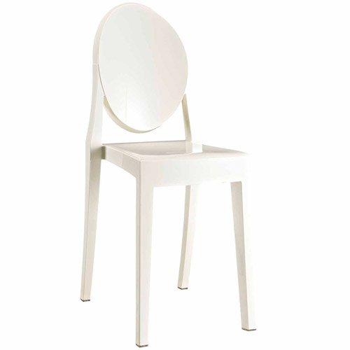 Modway Casper Stackable Dining Side Chair Multiple Colors
