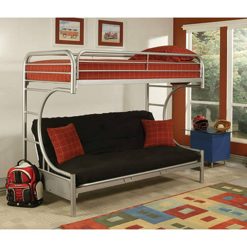 Eclipse Twin Over Full Futon Bunk Bed Multiple