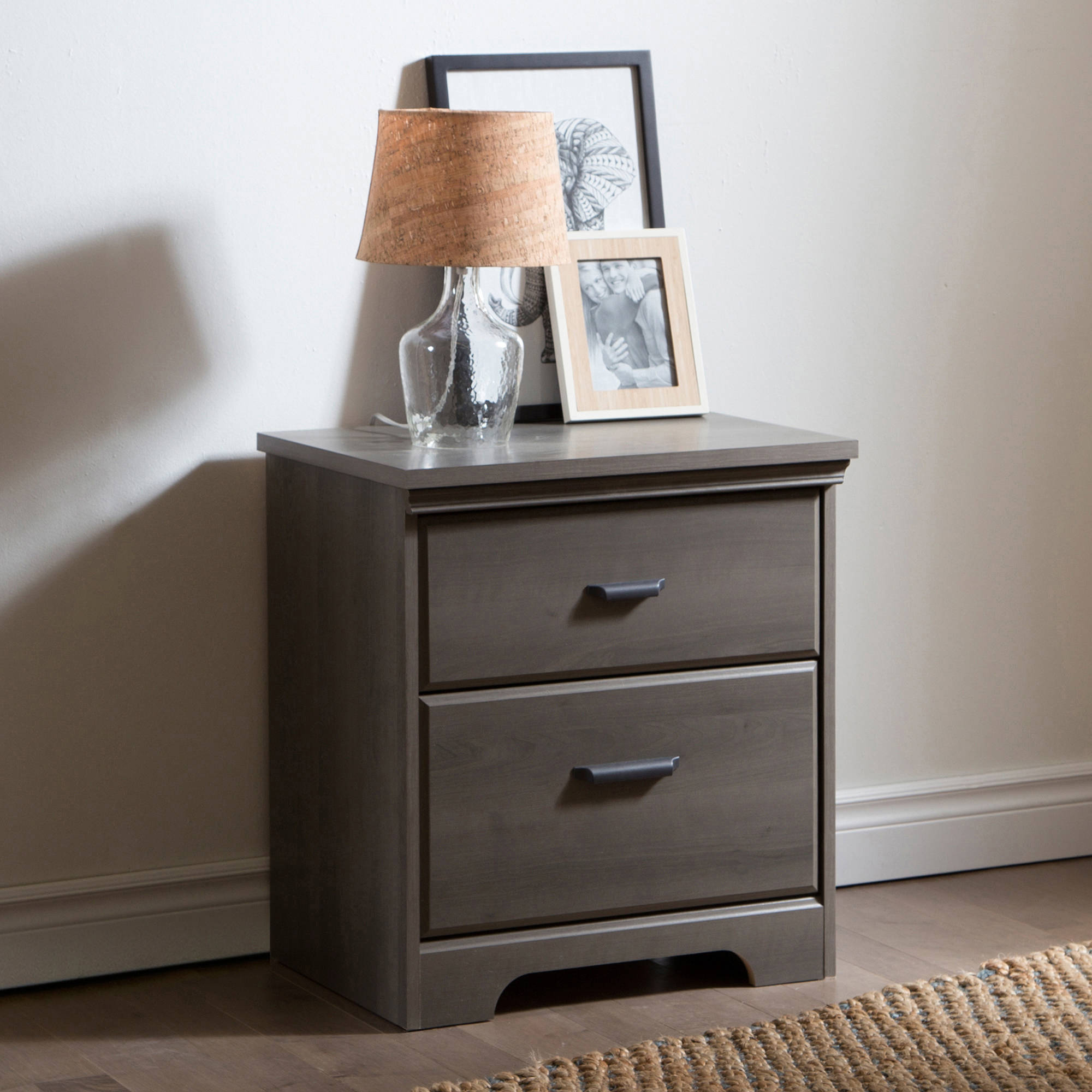 Nice South Shore Versa 2 Drawer Nightstand Multiple Colors