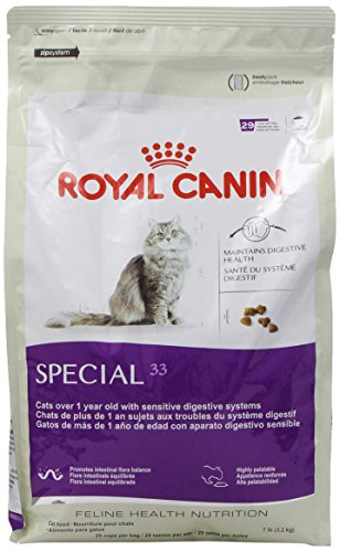royal canin dry cat food special 33 formula 7 pound bag. Black Bedroom Furniture Sets. Home Design Ideas