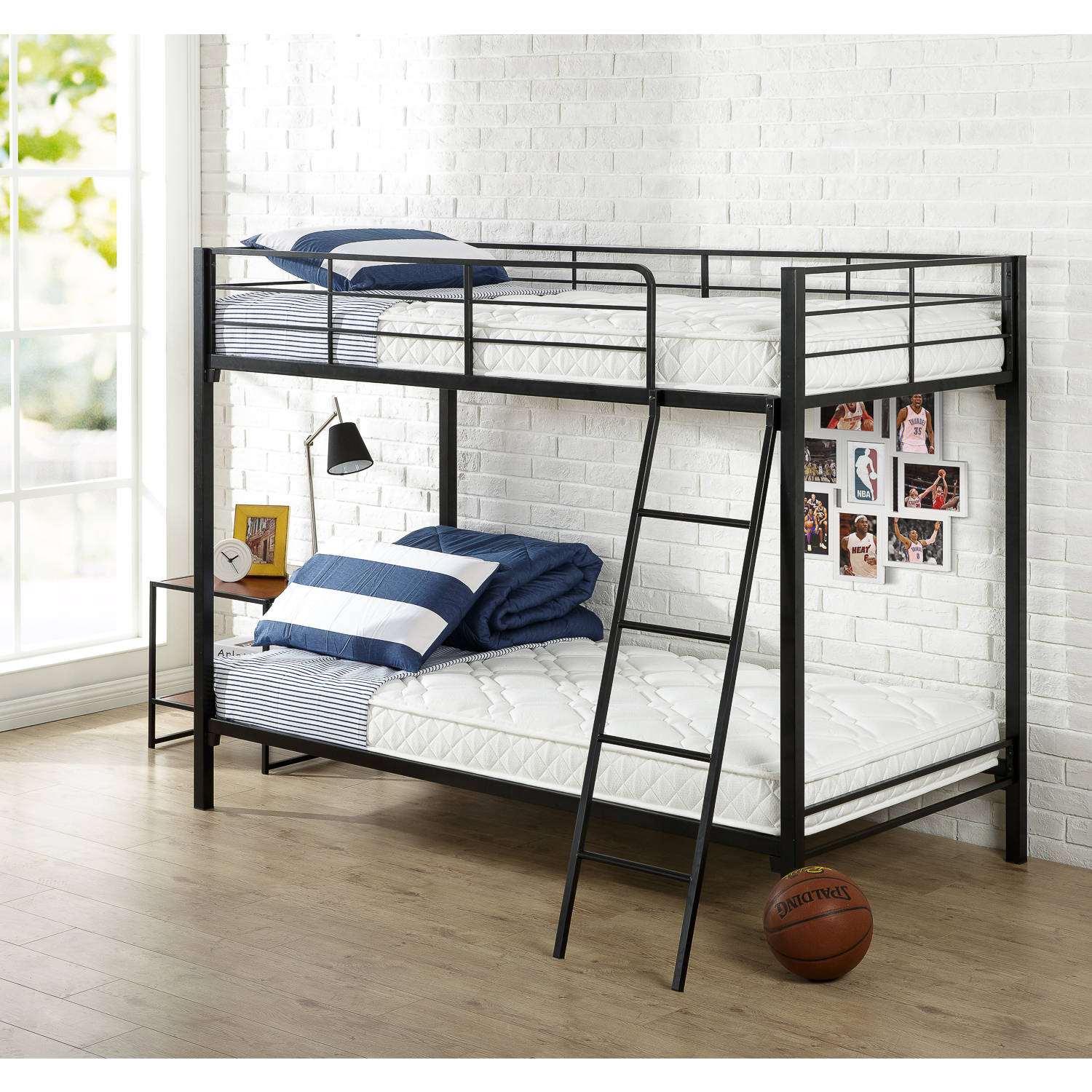 slumber 1 youth 6 39 39 bunk bed mattress with moisture barrier multiple sizes. Black Bedroom Furniture Sets. Home Design Ideas