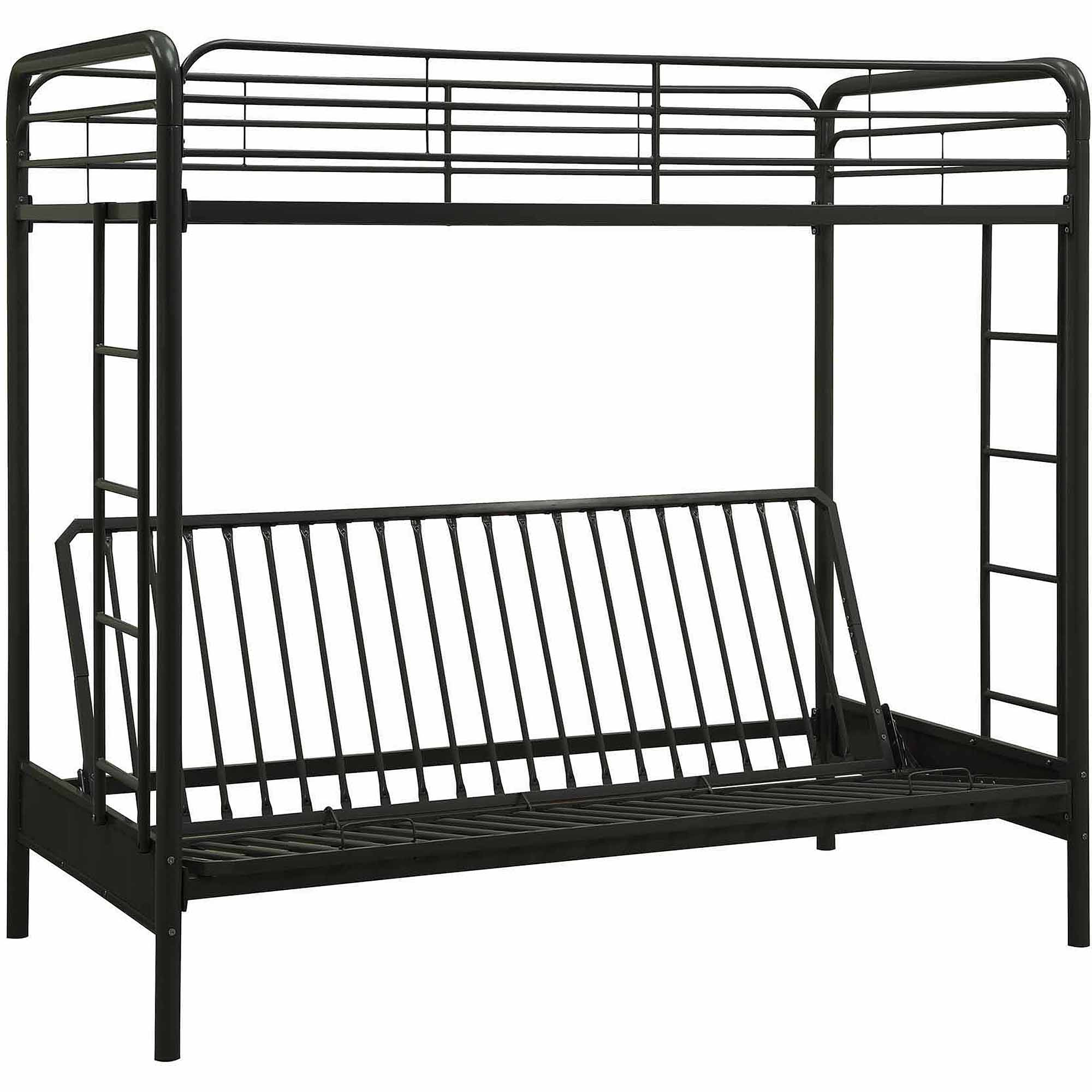 Dhp Twin Over Futon Metal Bunk Bed Multiple