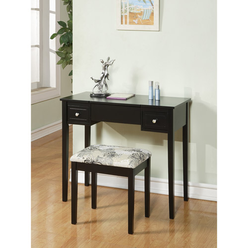 Linon Home Decor Vanity Set With Butterfly Bench Multiple Colors Ebay