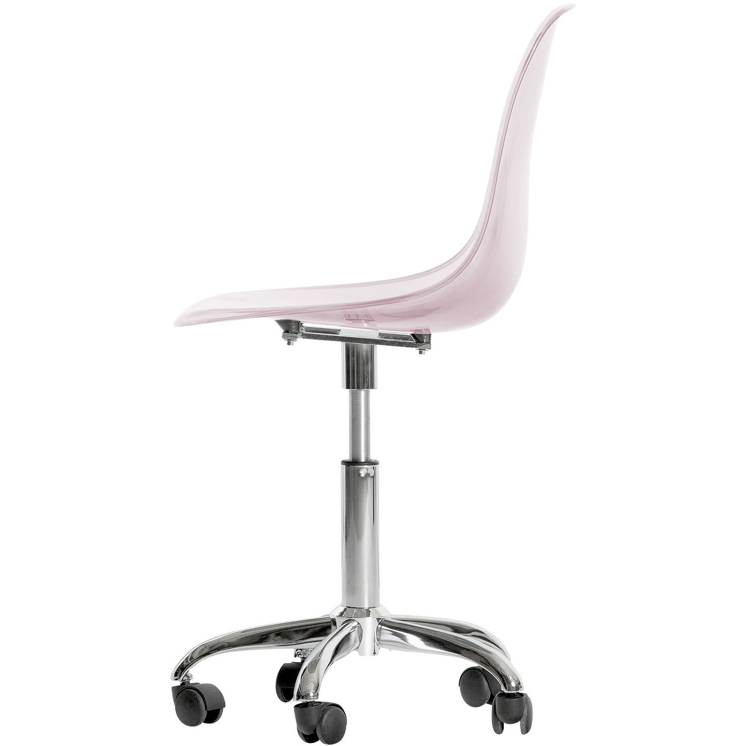 South S Annexe Clear Office Chair With Wheels