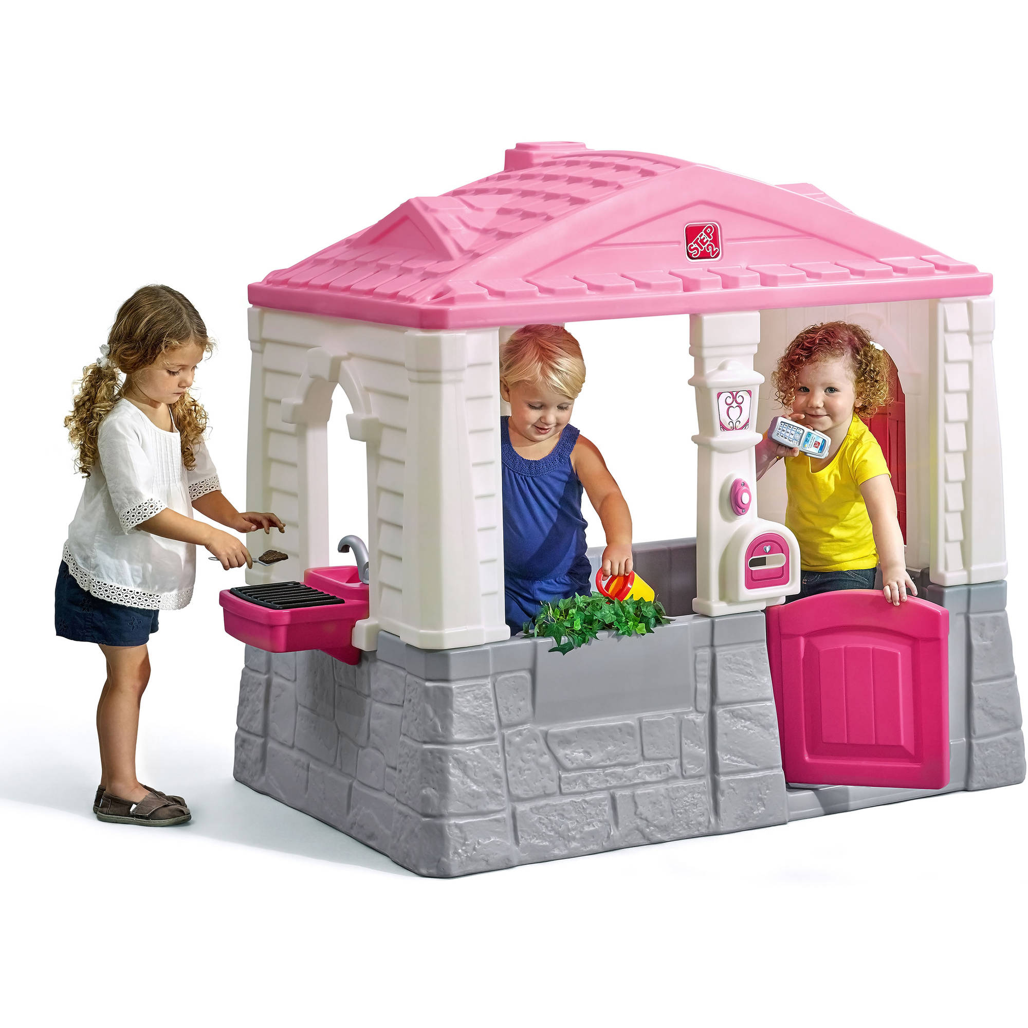step2 neat and tidy cottage pink 692632906111 ebay rh ebay com step 2 neat tidy cottage replacement phone step2 neat tidy cottage playhouse