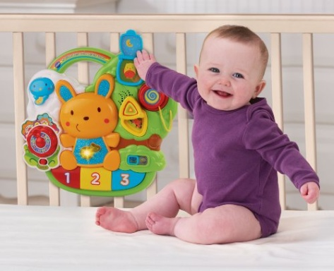 vtech baby lil 39 critters crib to floor activity center. Black Bedroom Furniture Sets. Home Design Ideas