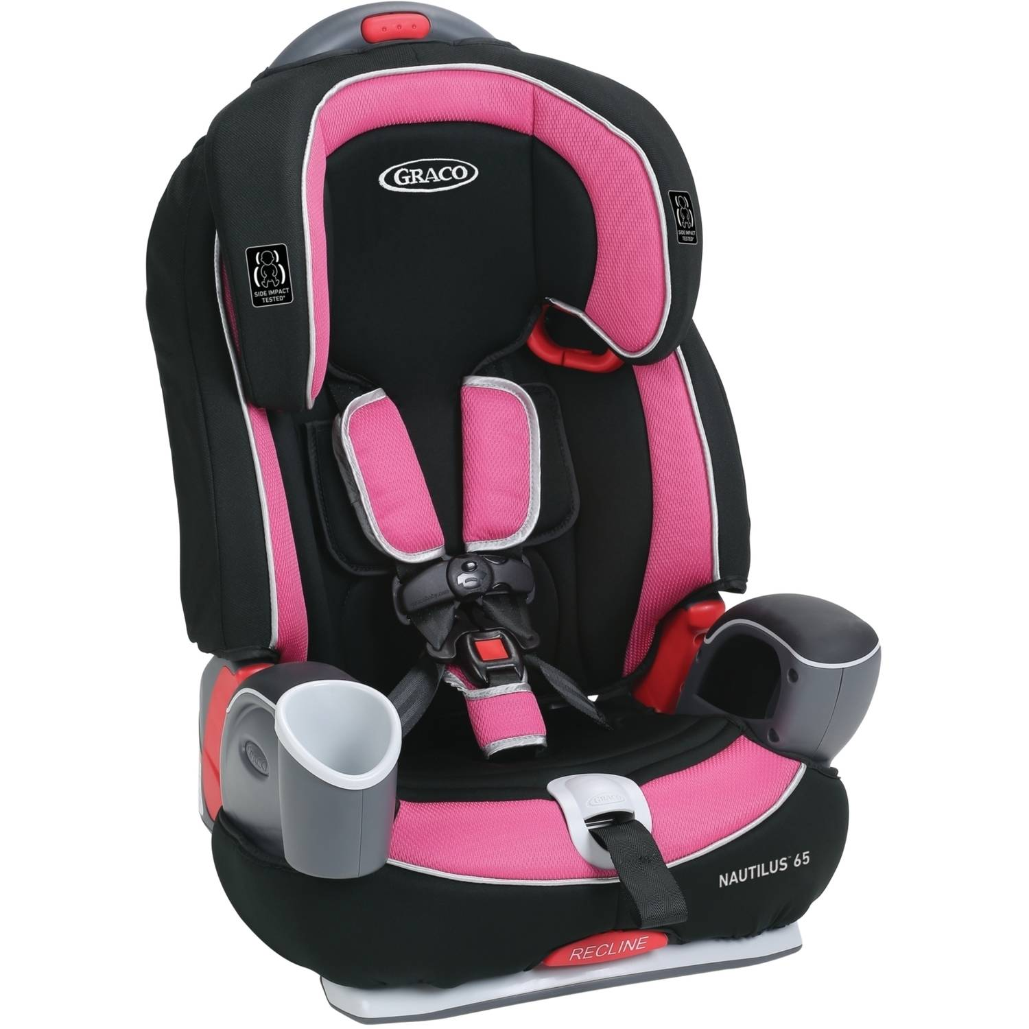 Details About Graco Nautilus 65 3 In 1 Multi Use Harness Booster Car Seat Choose Your Patter