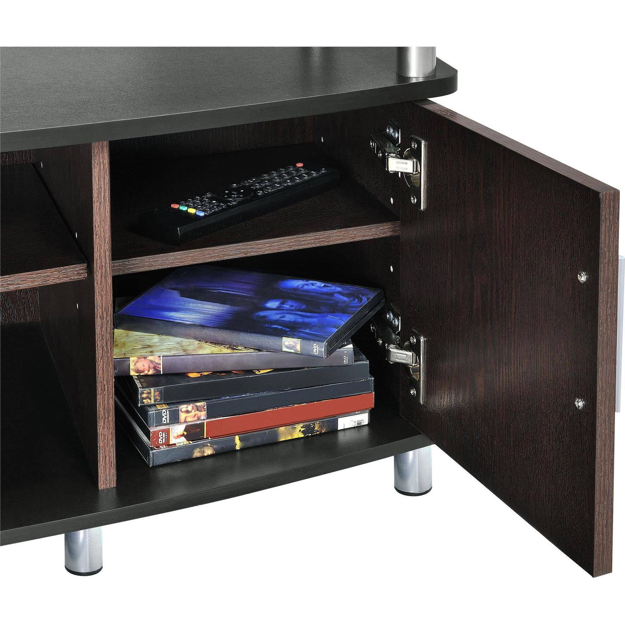 carson tv stand for tvs up to 50 multiple finishes ebay. Black Bedroom Furniture Sets. Home Design Ideas