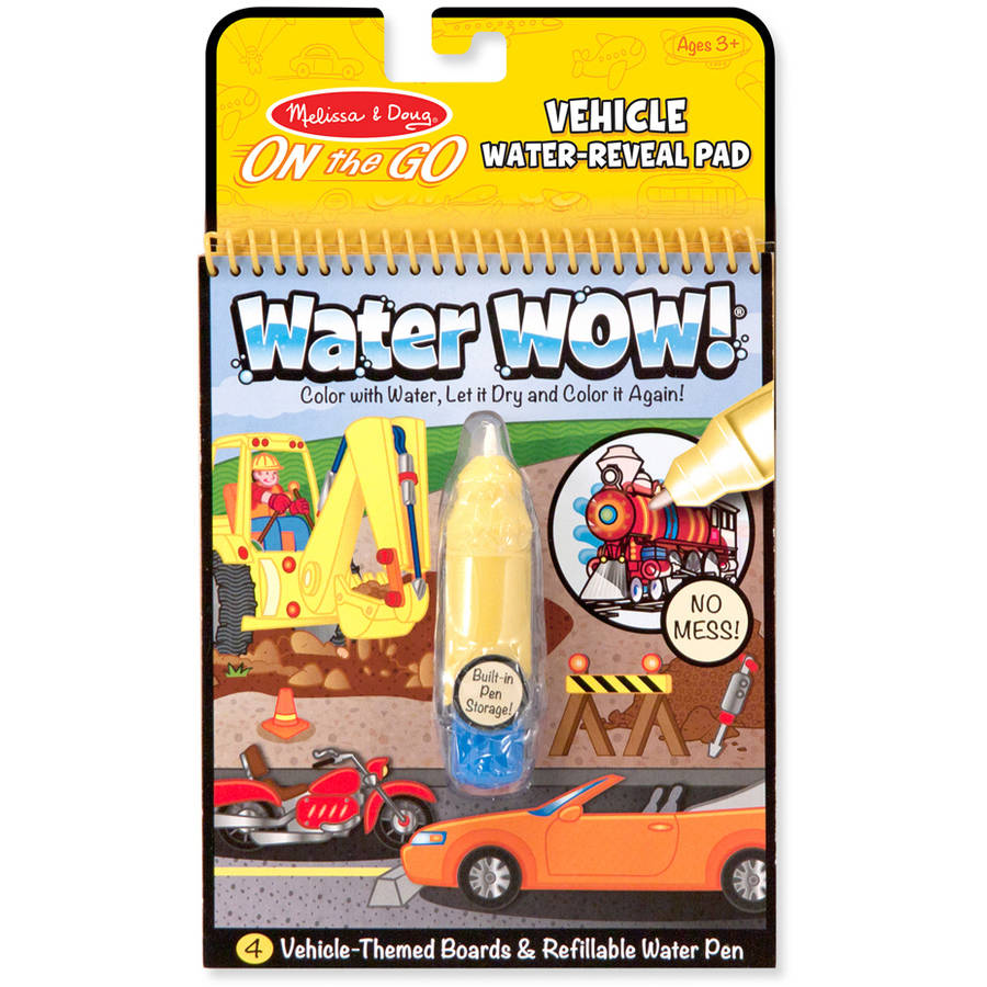 Melissa & Doug Water Wow!, Vehicles | eBay