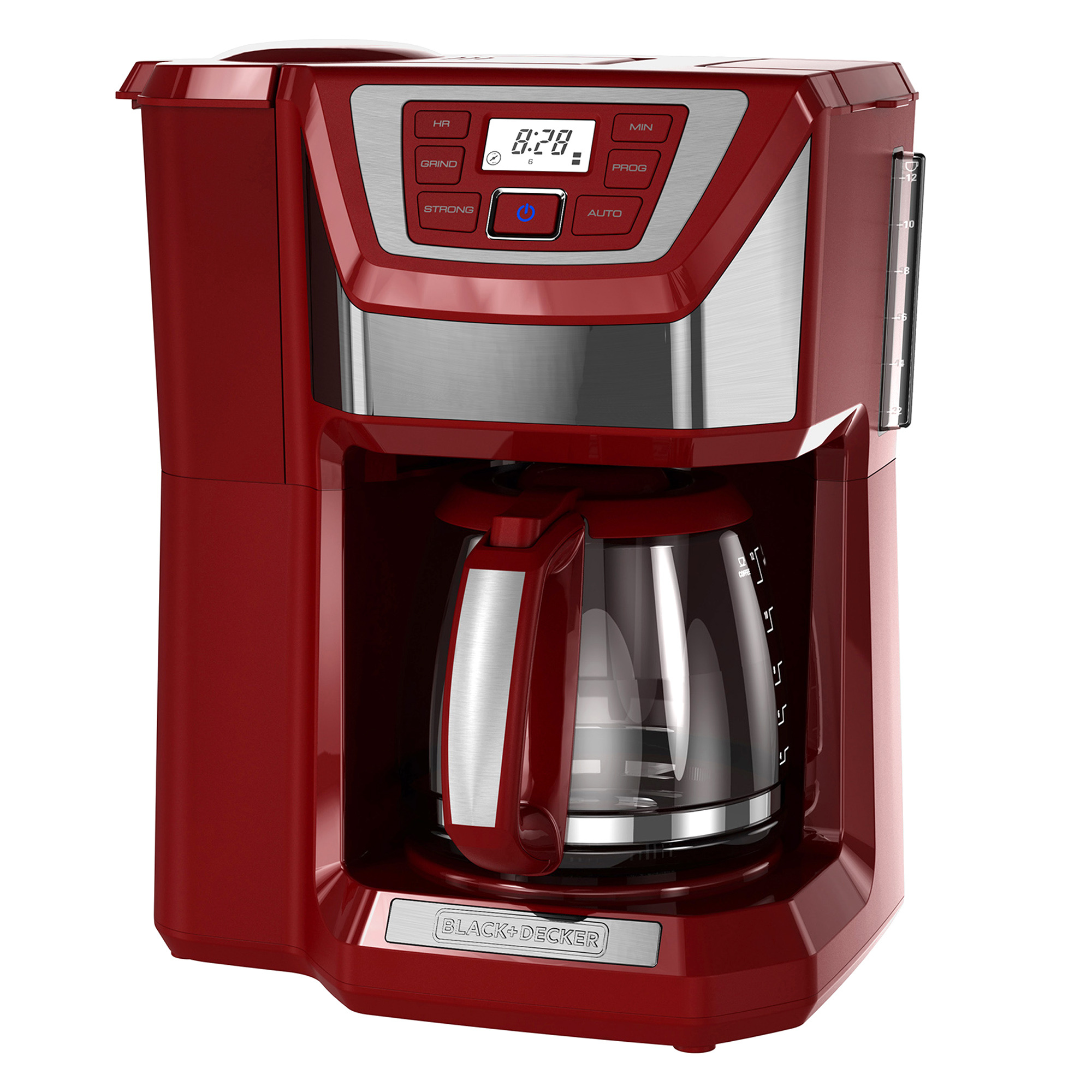 Black and decker coffee maker 12 cup programmable - Black Decker Mill And Brew 12 Cup Programmable