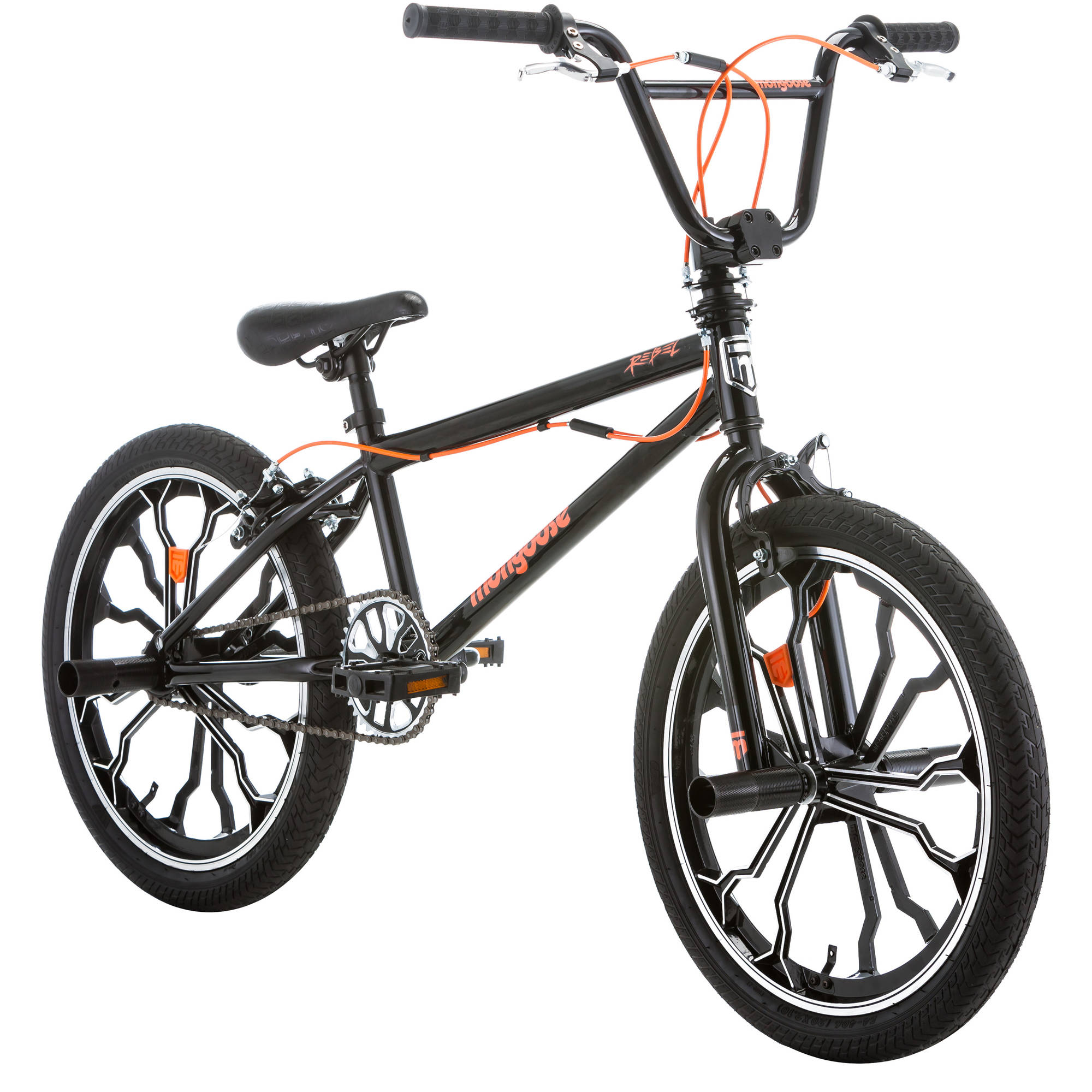 "20"" Mongoose Rebel Freestyle Boys BMX Bike Handlebar Spin ...