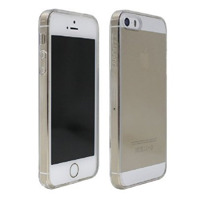 luvvitt clearview scratch resistant slim clear back case wit