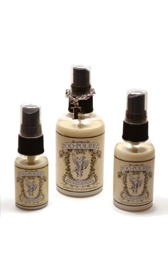 Poo Pourri 3 Piece Bathroom Deodorizer Set 2014 Version Larger