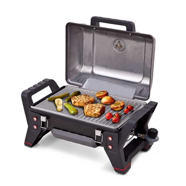 char broil tru infrared grill2go x200 portable gas grill. Black Bedroom Furniture Sets. Home Design Ideas