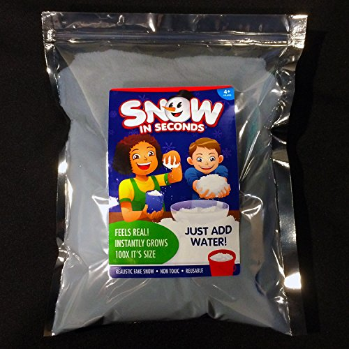 Snow in seconds instant fake lb bag