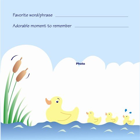 Nature S Lullabies Second Year Sticker Calendar
