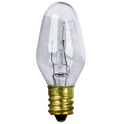 triangle bulbs 0 5 watt c7 led night light bulb clear 4 pack. Black Bedroom Furniture Sets. Home Design Ideas