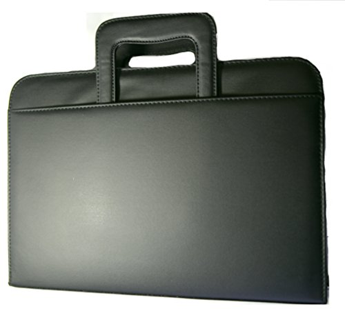 Black executive interview business portfolio notebook for Construction organizer notebook