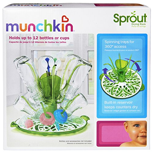 munchkin sprout drying rack instructions