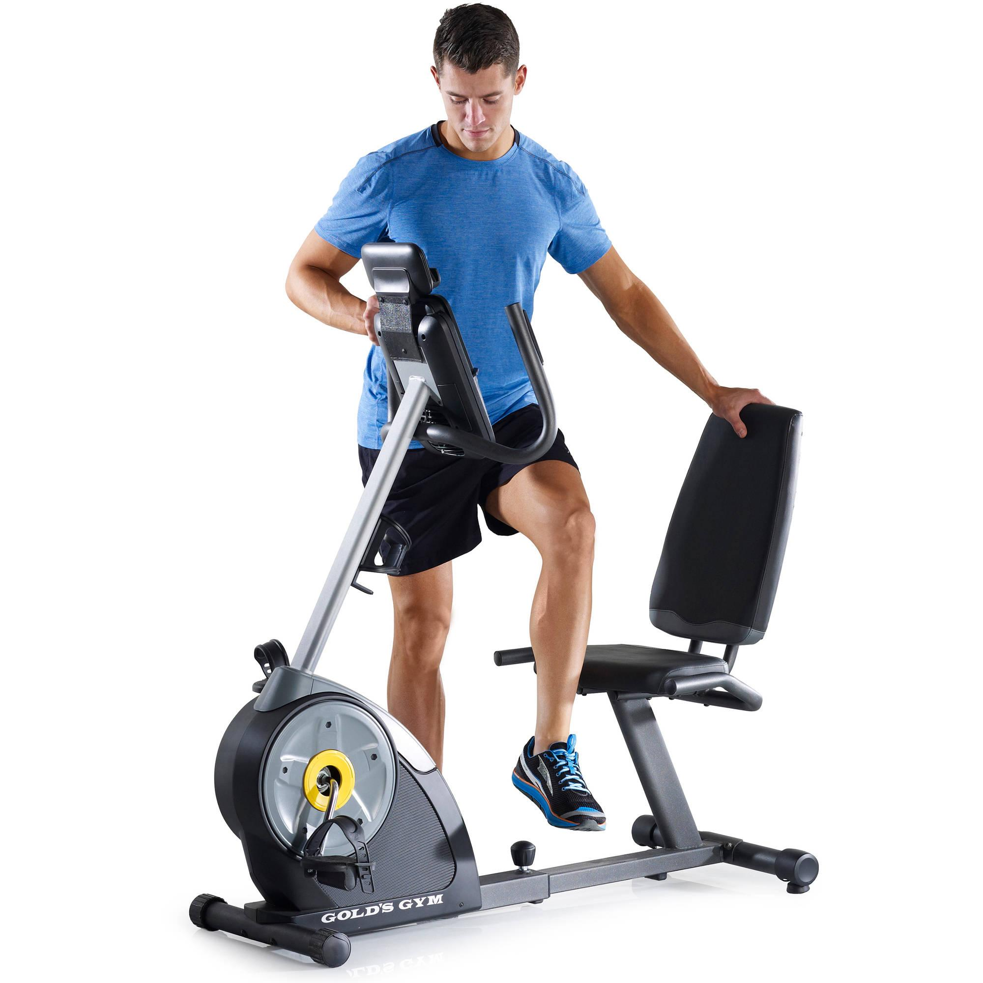 Exercise Bike Next Day Delivery: Gold's Gym Cycle Trainer 400R Exercise Bike