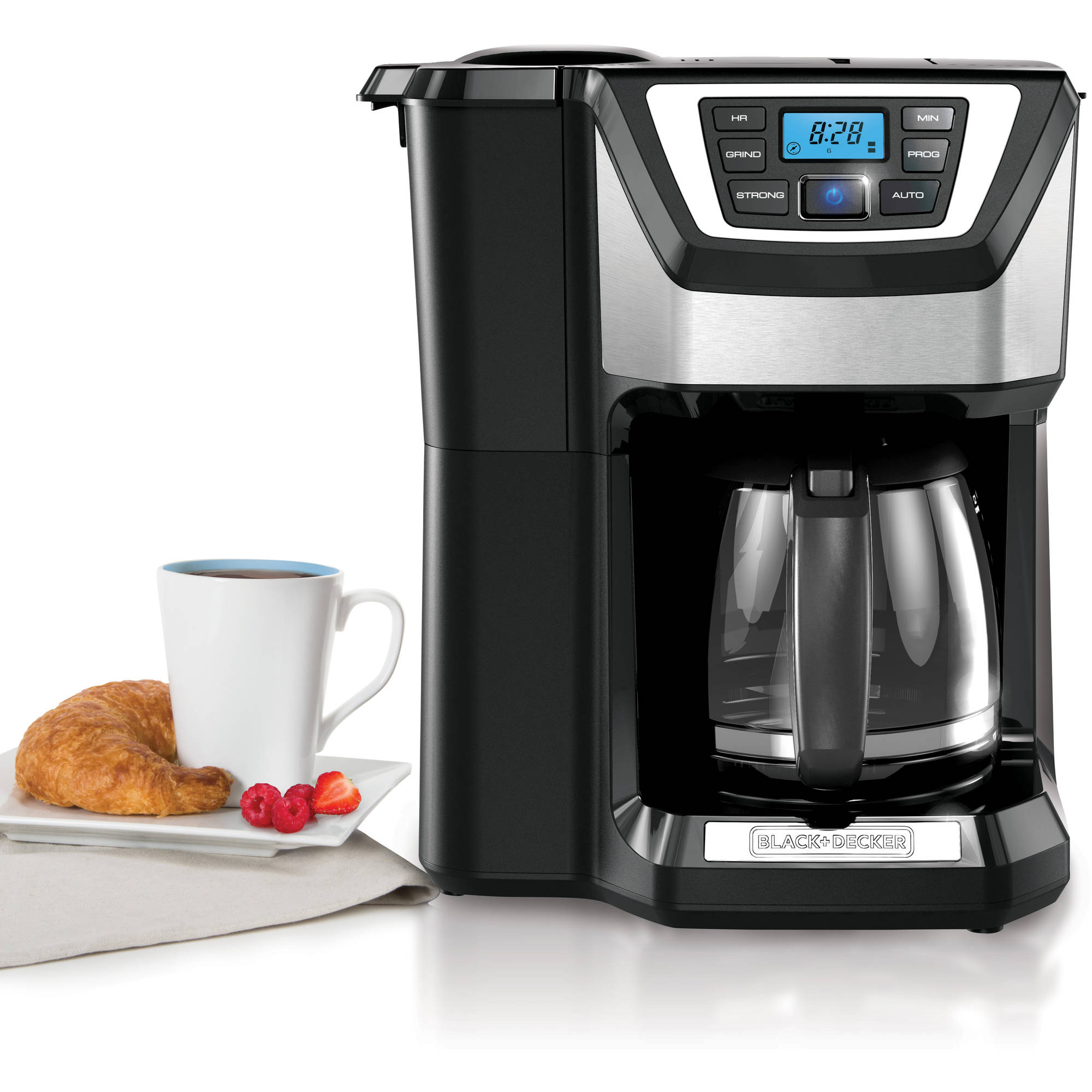 Black Decker Mill And Brew 12 Cup Programmable Coffee