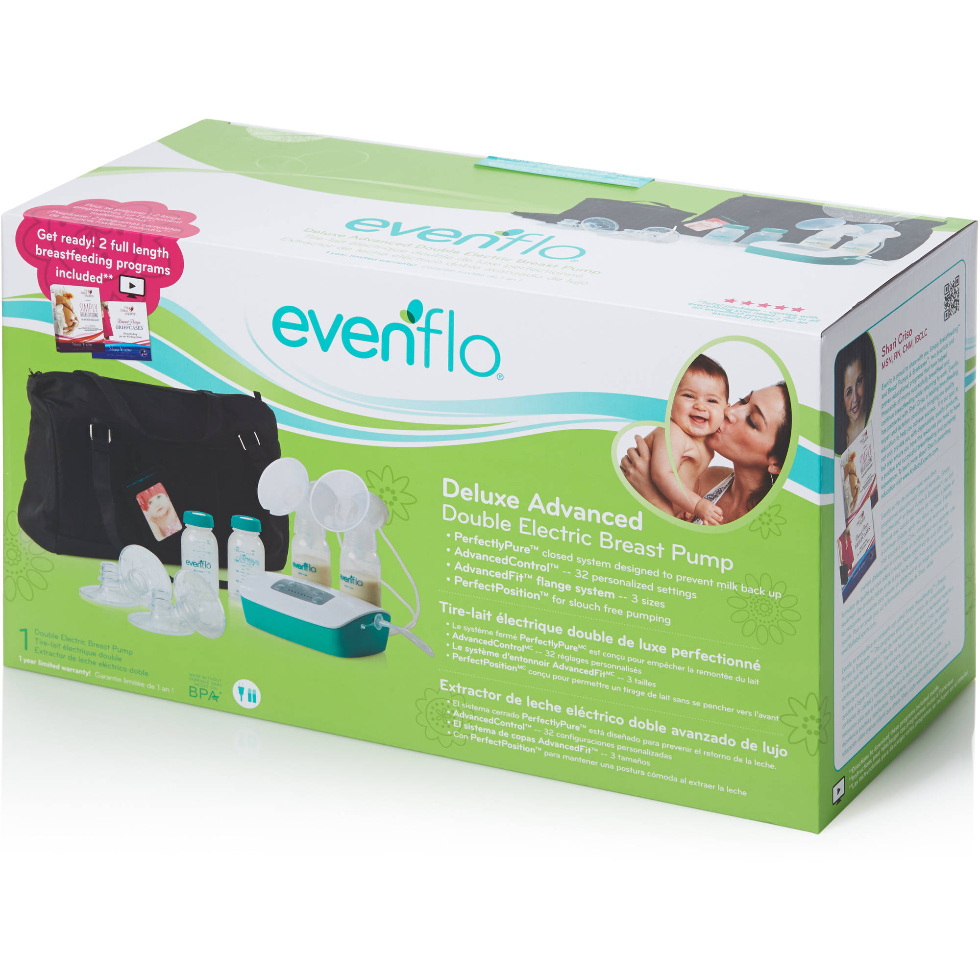 how to use evenflo manual breast pump