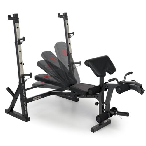 Marcy Olympic Weight Bench Md 857 Ebay