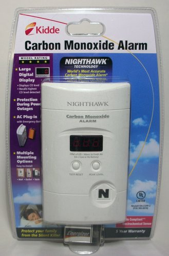 kidde nighthawk carbon monoxide alarm manual