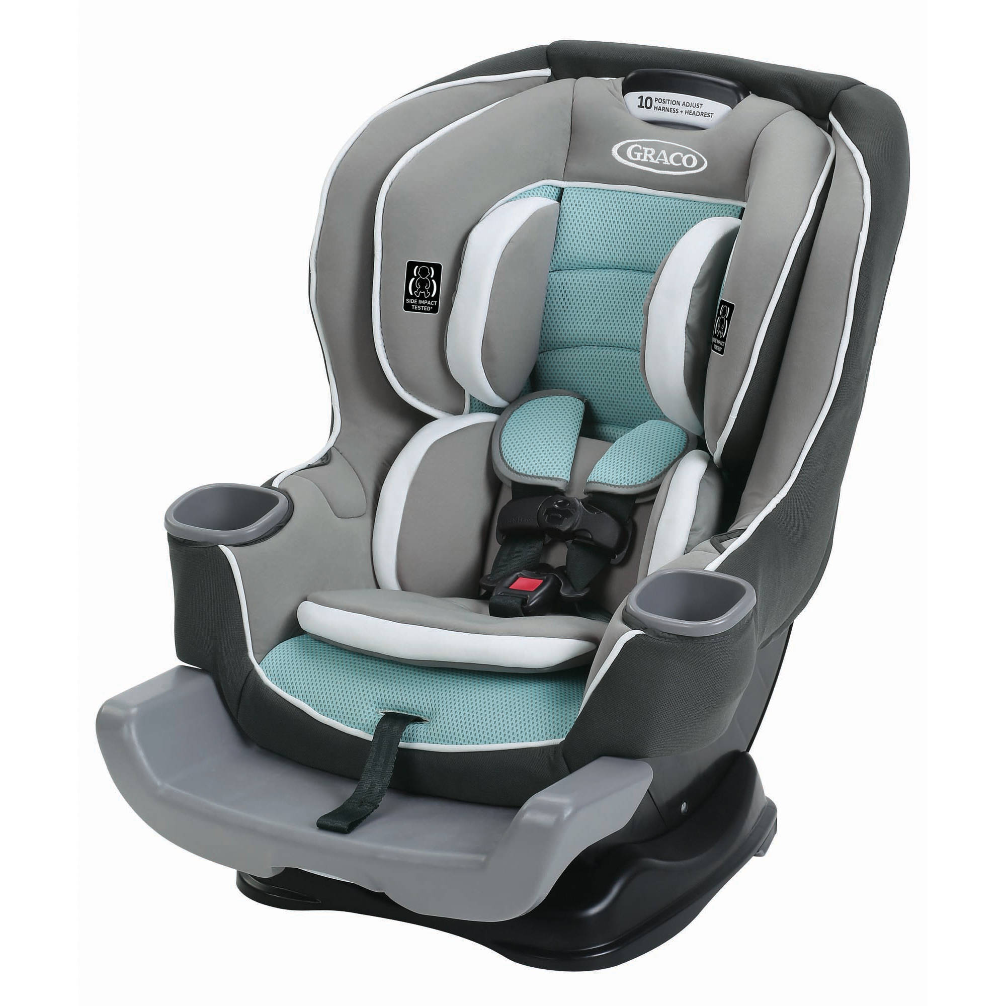 graco extend2fit convertible car seat choose your pattern ebay. Black Bedroom Furniture Sets. Home Design Ideas