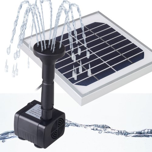 Magicfly Power Panel Kit 3w Solar Water Pump Fountain Pool Garden